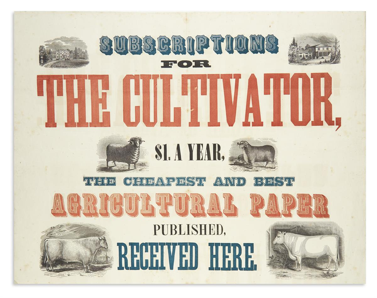 (AGRICULTURE)-Subscriptions-for-the-Cultivator----the-Cheape
