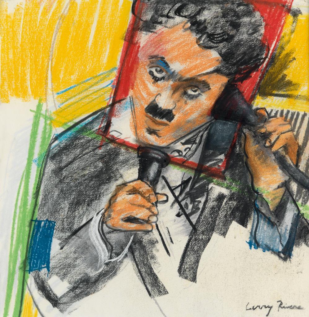 LARRY RIVERS Charlie Chaplin.