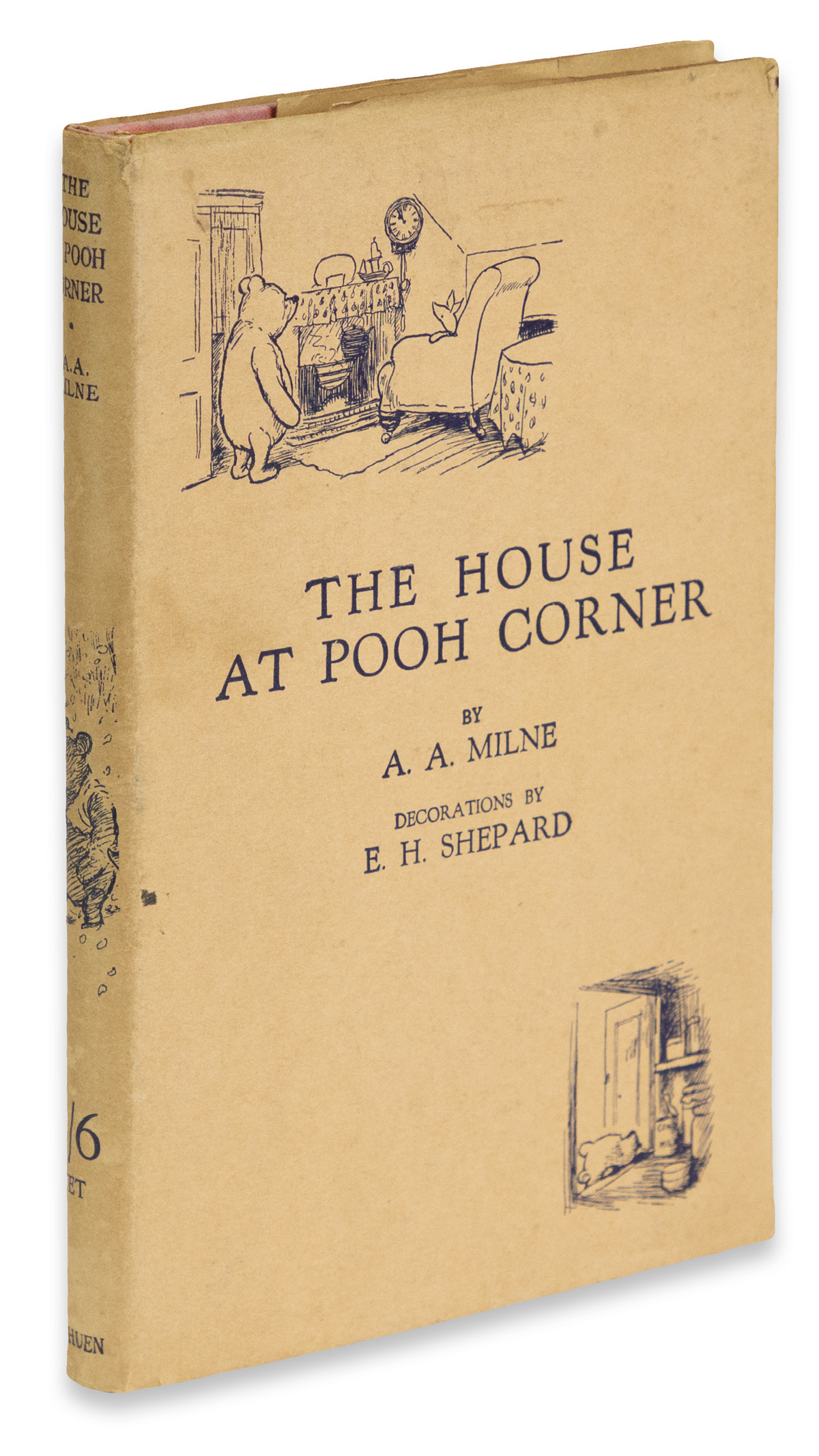 (CHILDRENS-LITERATURE)-Milne-AA-The-House-At-Pooh-Corner