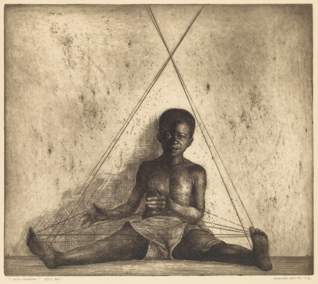 CHARLES WHITE (1918 - 1979) Cats Cradle.