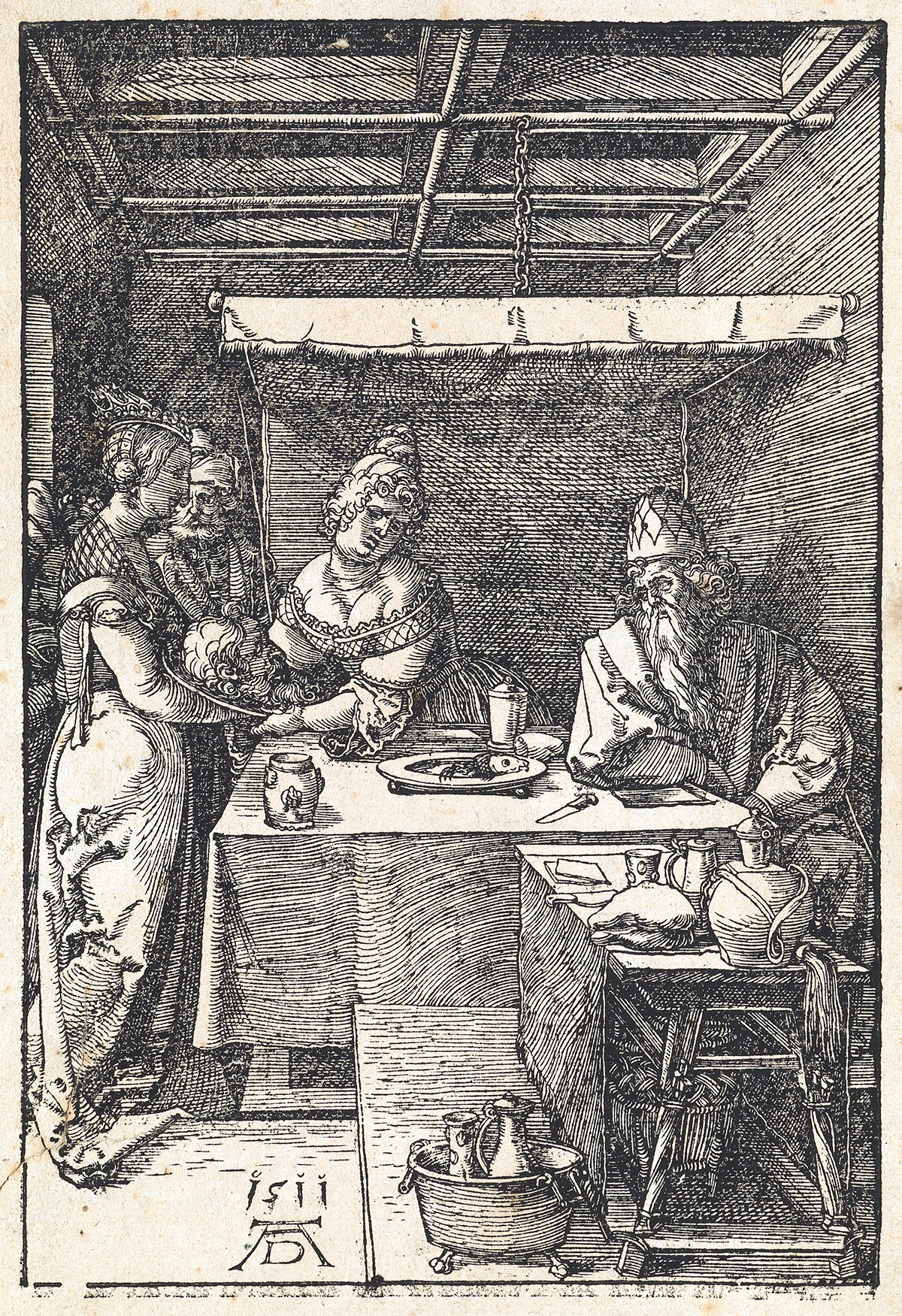 ALBRECHT DÜRER Salome Receiving the Head of Saint John the Baptist.