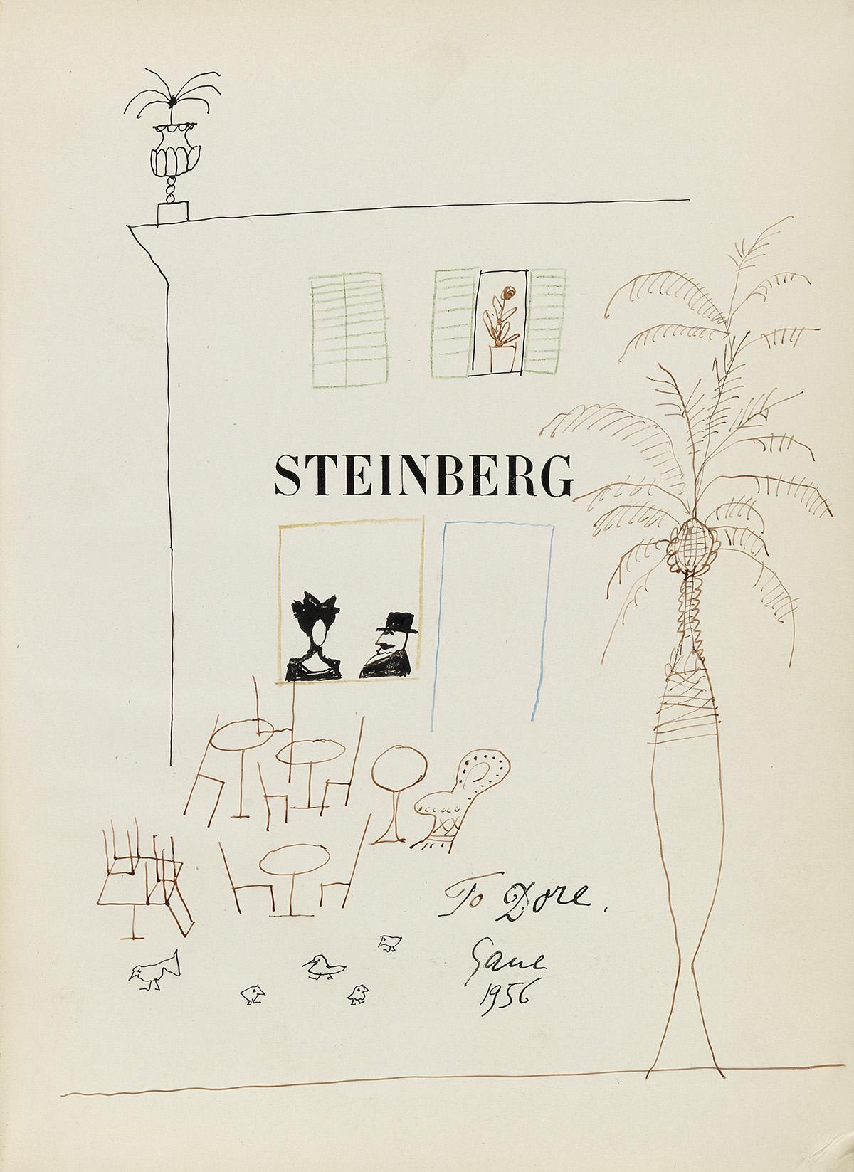STEINBERG-SAUL-Dessins