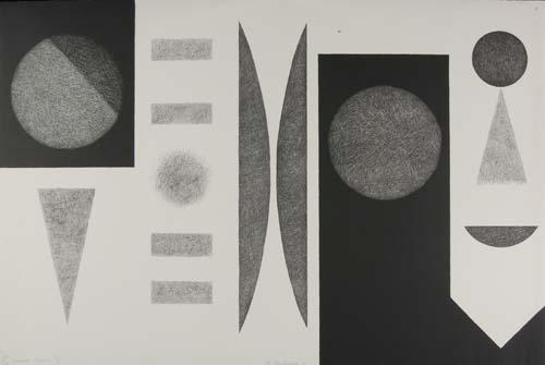 DOROTHY DEHNER Two lithographs.