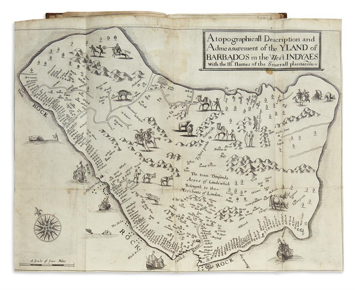 (BARBADOS)-Ligon-Richard-A-True--Exact-History-of-the-Island