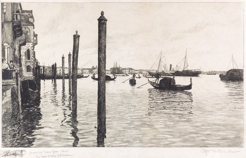 OTTO-HENRY-BACHER-(after)-Grand-Canal-Vanice