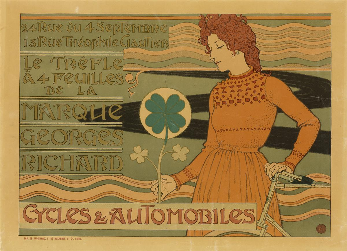 EUGENE-GRASSET-(1841-1917)-MARQUE-GEORGES-RICHARD--CYCLES--A