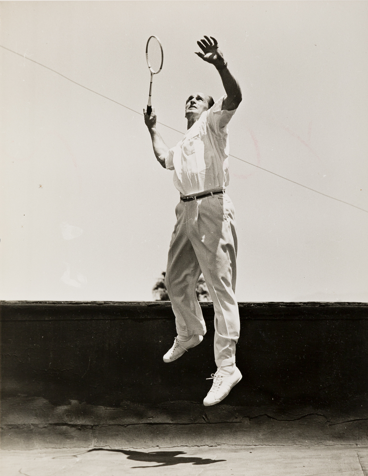 JACK PASHKOVSKY (1911-2001) A pair of photographs depicting tennis star Bill Tilden.