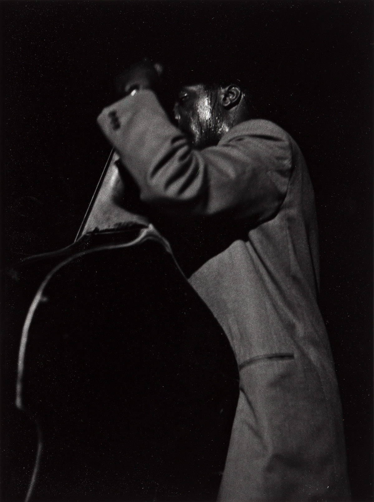 ROY DECARAVA (1919 - 2009) Bass Player, Smalls, New York.