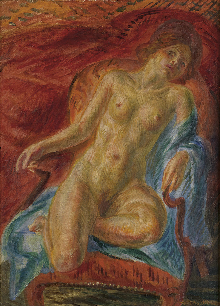 JOHN-SLOAN-Female-Nude-on-a-Chair