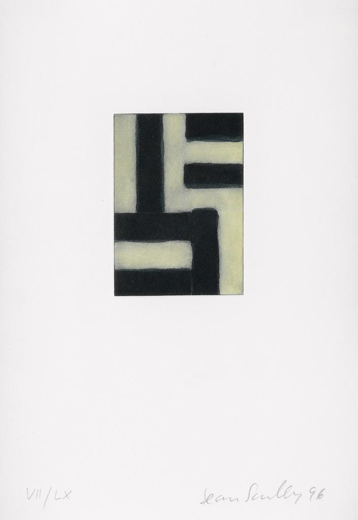 SEAN SCULLY Funf Radierungen Fur Hans-Georg Gadamer.