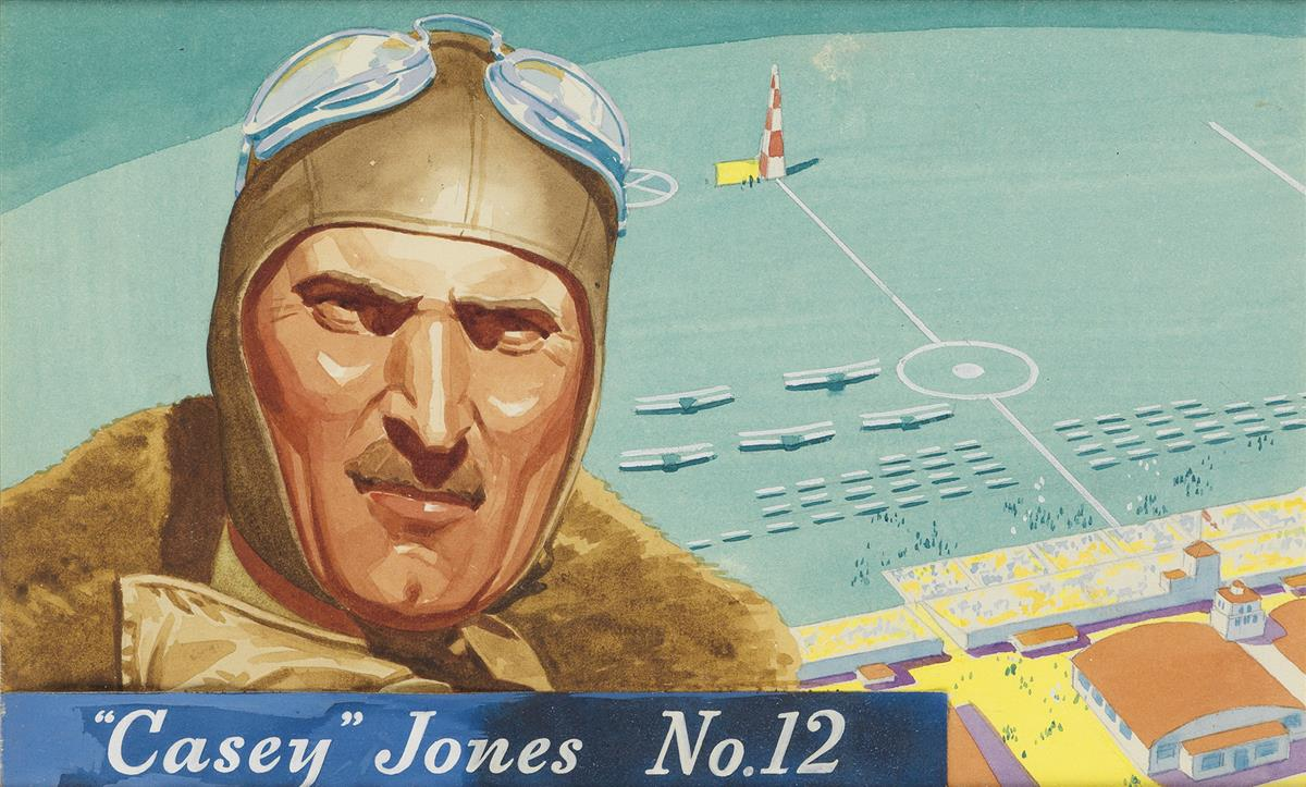 WILLIAM HEASLIP (style of.) Famous Aviators.