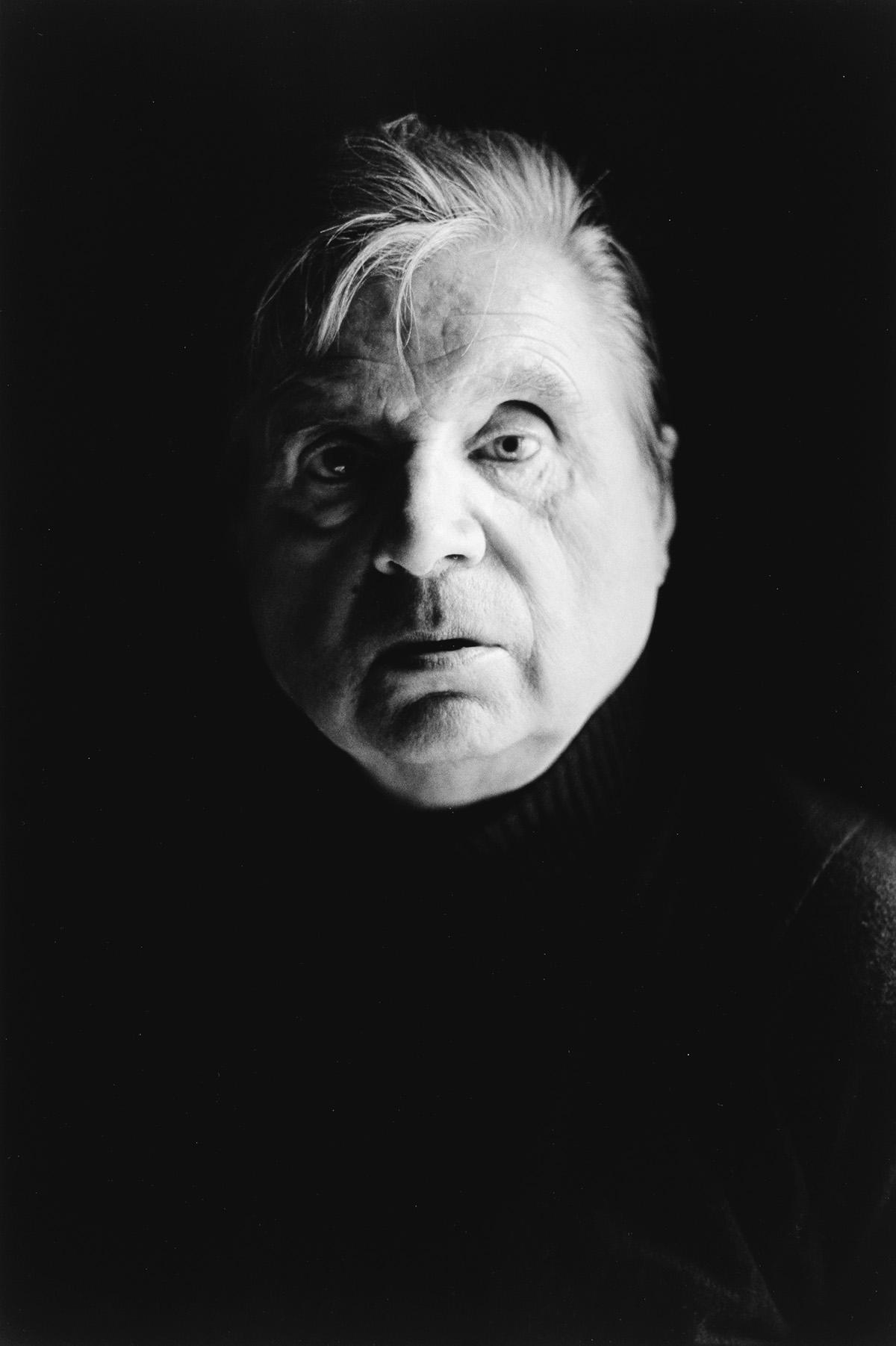 CARLOS-FREIRE-(1945--)-Francis-Bacon-à-son-atelier-de-Londre