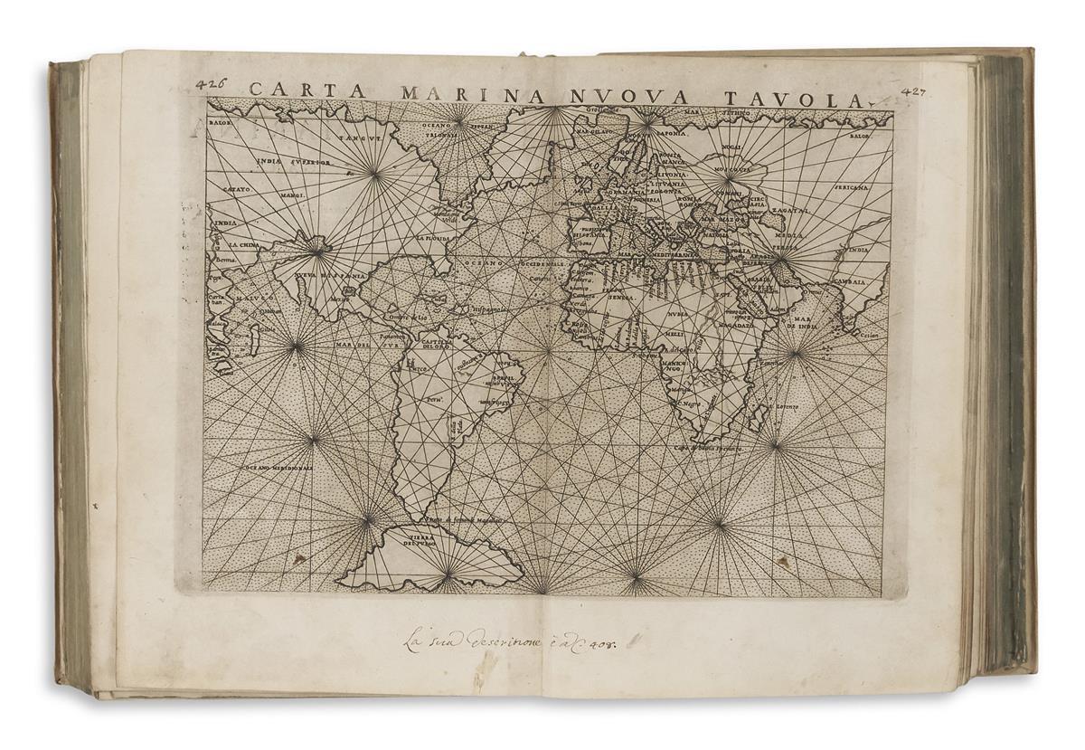RUSCELLI, GIROLAMO. La Geografia di Claudio Tolomeo Alessandrino.