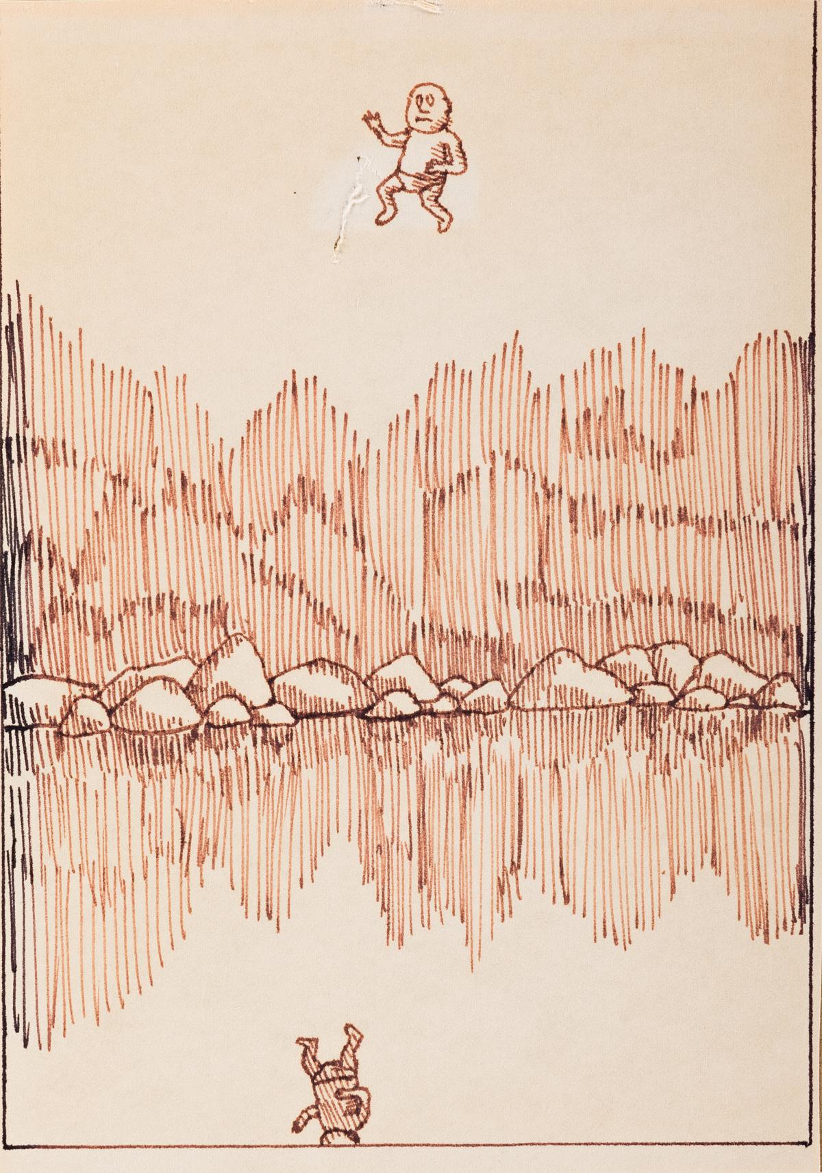 DAVID-WOJNAROWICZ-(1954---1992)-Group-of-6-drawings
