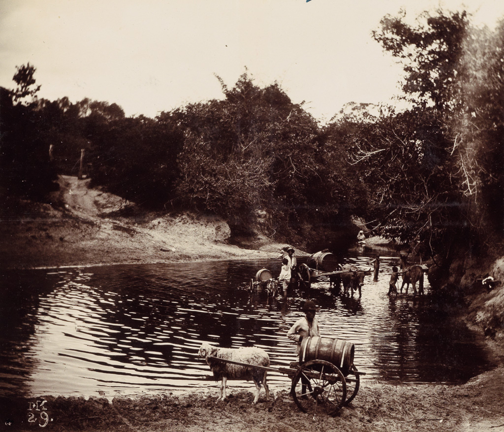 (BRAZIL) Hermann [Ermano] Kummler (1863-1949) Album containing approximately 200 wonderful photographs by, or acquired by, the Swiss ph