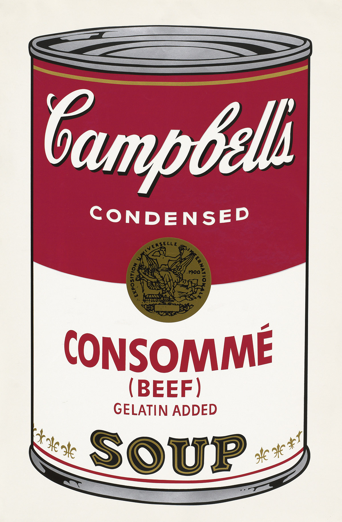ANDY WARHOL Consommé (Beef).
