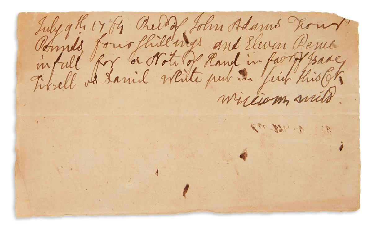 ADAMS-JOHN-Two-Autograph-Documents-Signed-in-the-third-perso