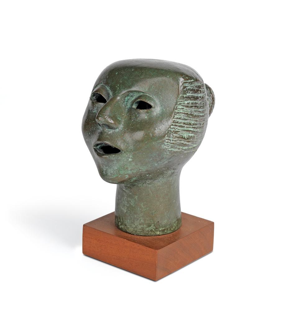 ELIZABETH CATLETT (1915 - 2012) Cabeza Cantando (Singing Head).
