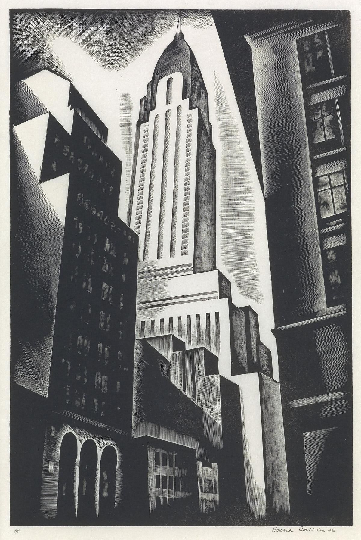 HOWARD-COOK-Chrysler-Building