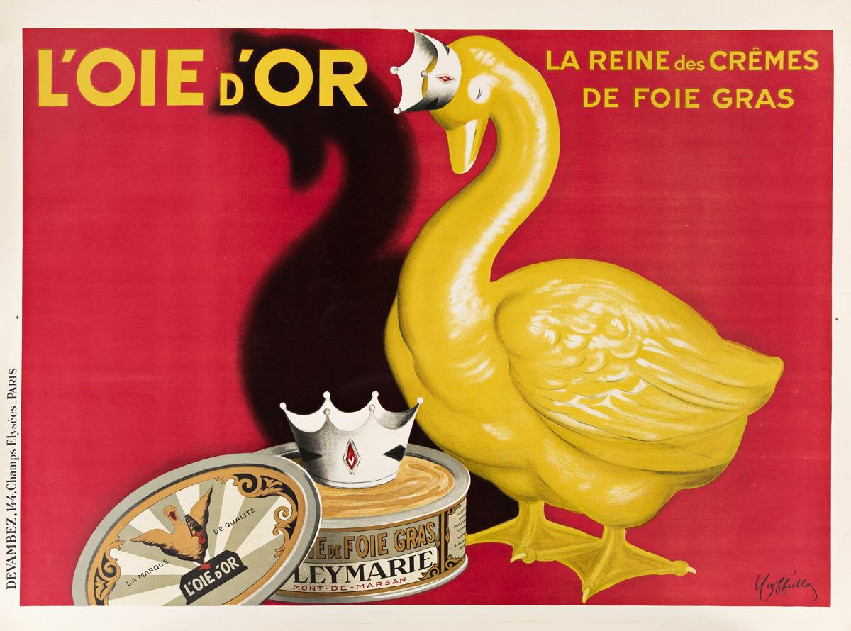 LEONETTO CAPPIELLO (1875-1942).  LOIE DOR. Circa 1930. 47x63 inches, 119x160 cm. Devambez, Paris.