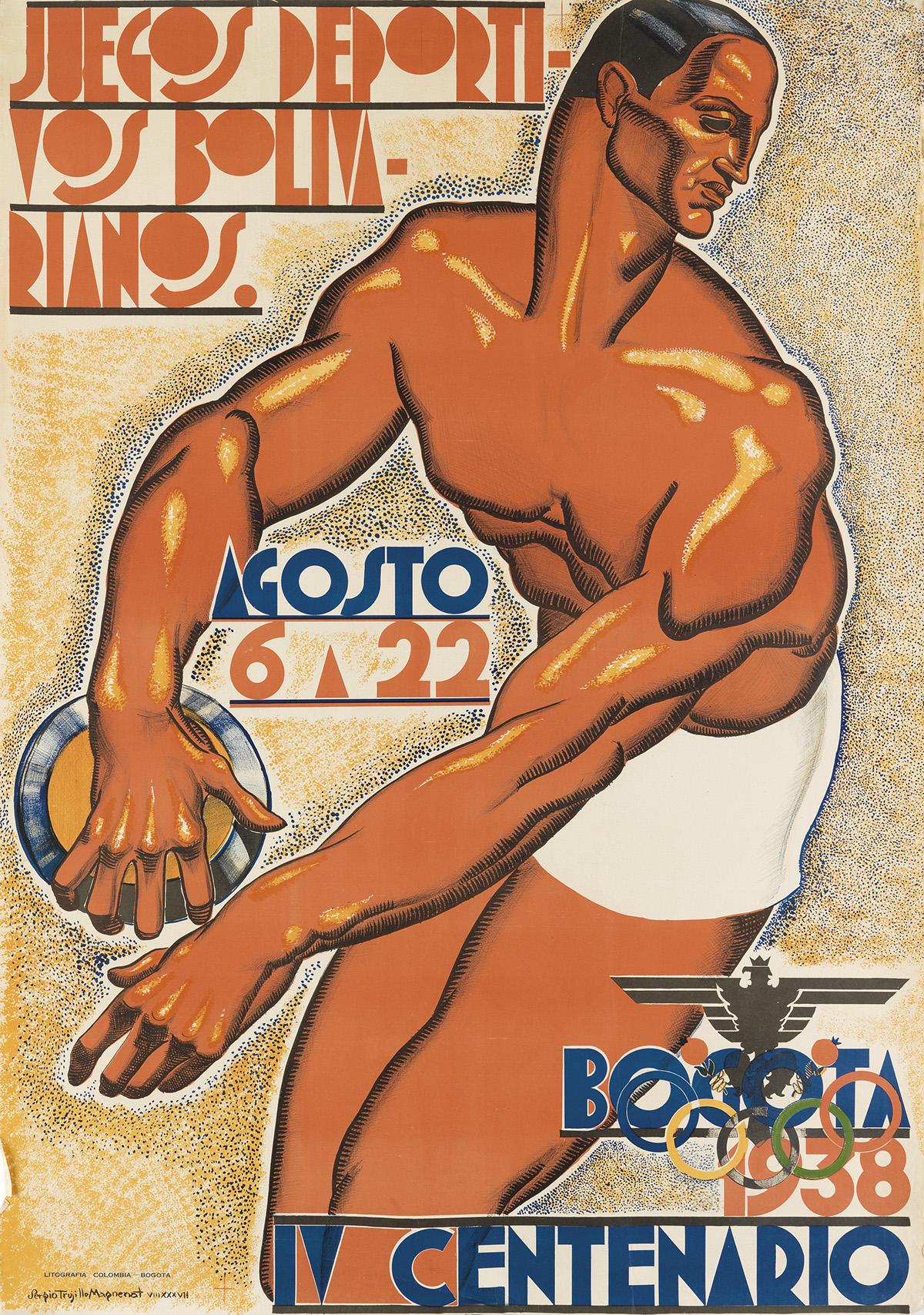 SERGIO-TRUJILLO-MAGNENAT-(1911-1999)-BOGOTA-1938--IV-CENTENA