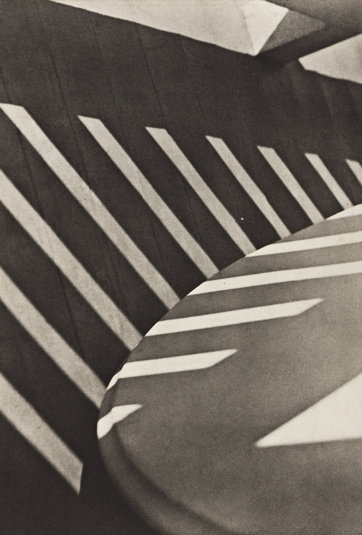 PAUL STRAND (1890-1976) Abstraction, Porch Shadows, from Camera Work Number 49-50.