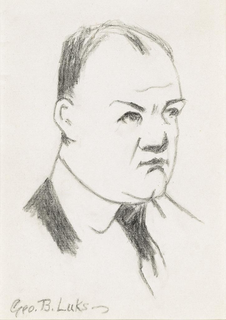 GEORGE-LUKS-Self-Portrait
