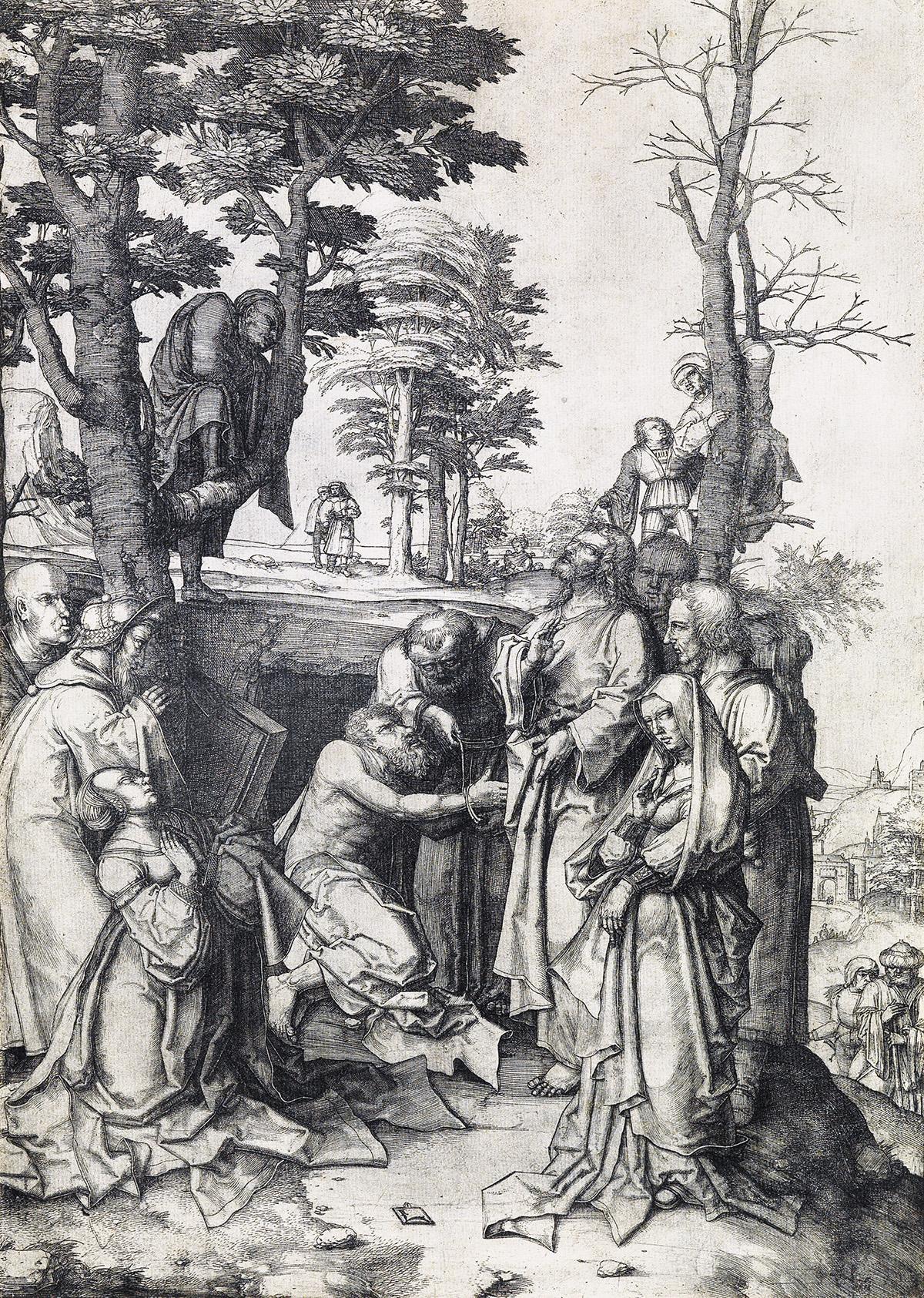 LUCAS-VAN-LEYDEN-The-Raising-of-Lazarus