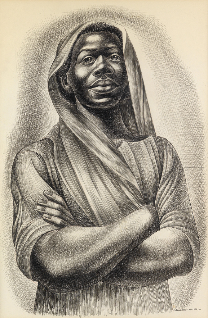 CHARLES WHITE (1918 - 1979) Juba.