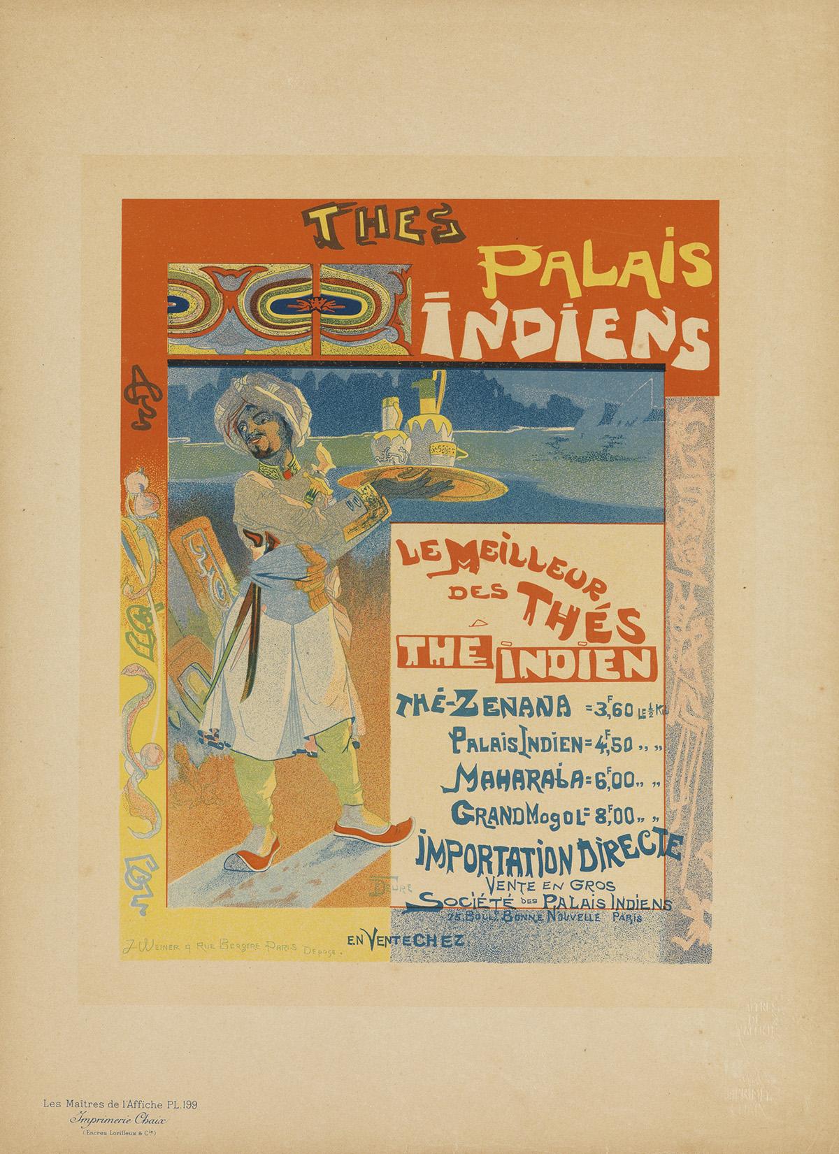 VARIOUS-ARTISTS-LES-MAÎTRES-DE-LAFFICHE-Group-of-15-plates-1