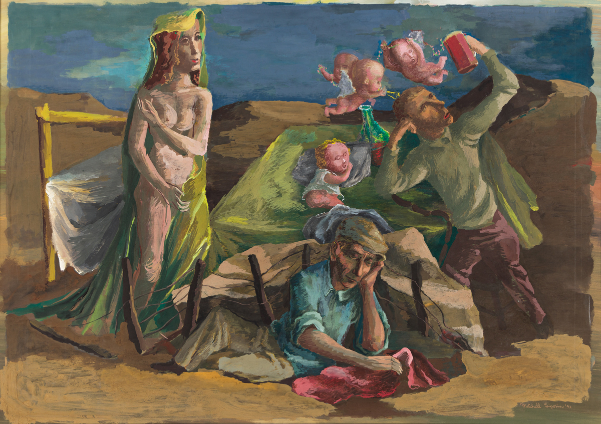 MITCHELL SIPORIN (1910-1976) Dream of the Good Life.