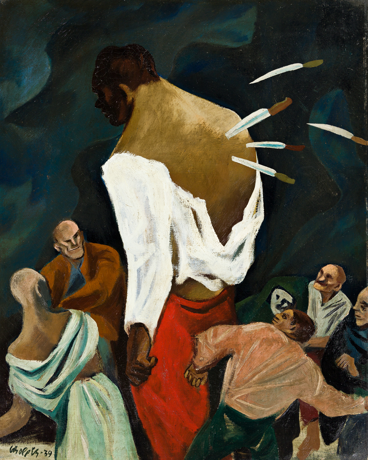 WILLIAM GROPPER (1897-1977) Stabbed in the Back.