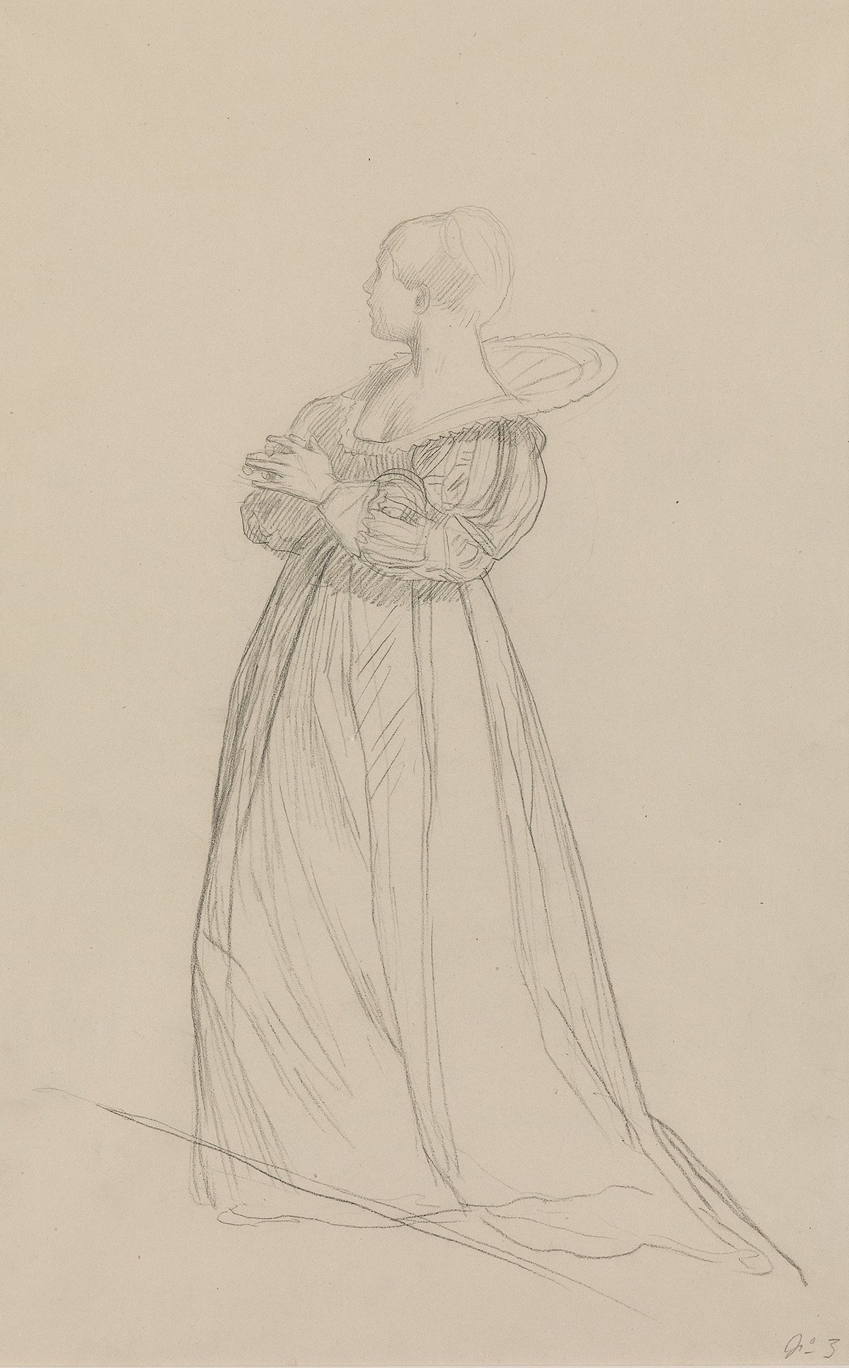 JEAN-LÉON-GÉRÔME-(Vesoul-1824-1904-Paris)-A-Woman-Standing-i