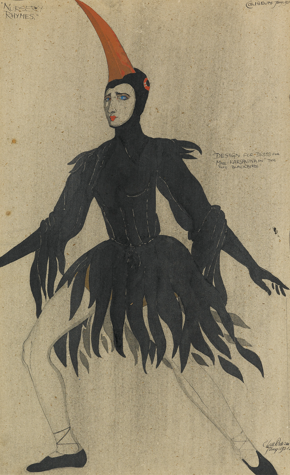 CLAUD LOVAT FRASER. The Blackbird.
