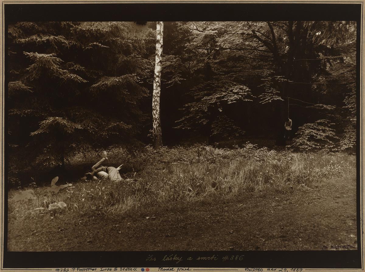 JAN SAUDEK (1935- ) A group of 10 stylized photographs.