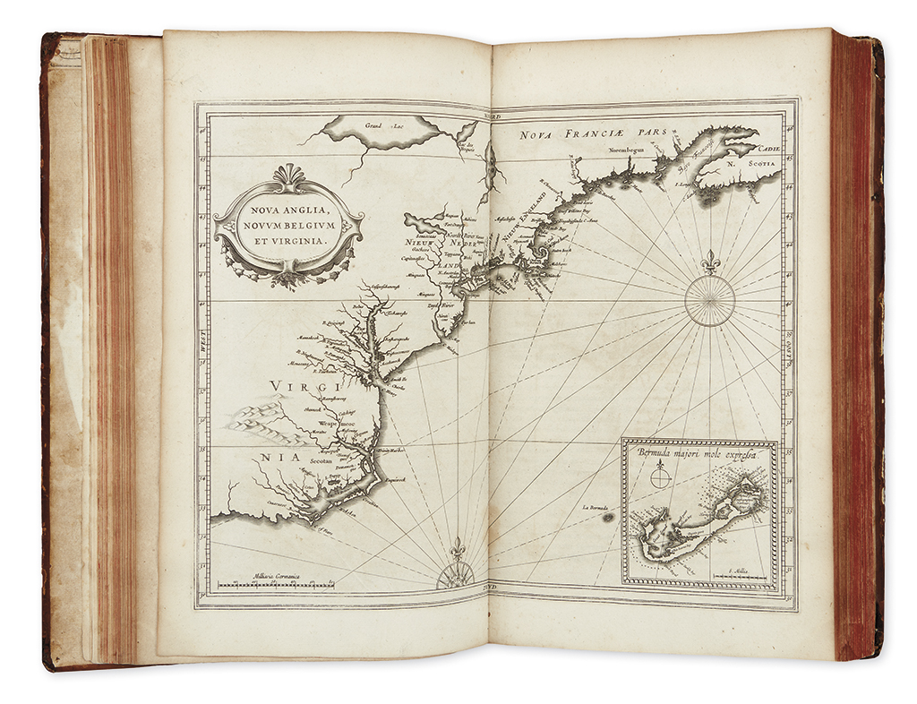 LAET, JOHANNES DE. Novus Orbis seu Descriptionis Indiae Occidentalis. Libri XVIII.