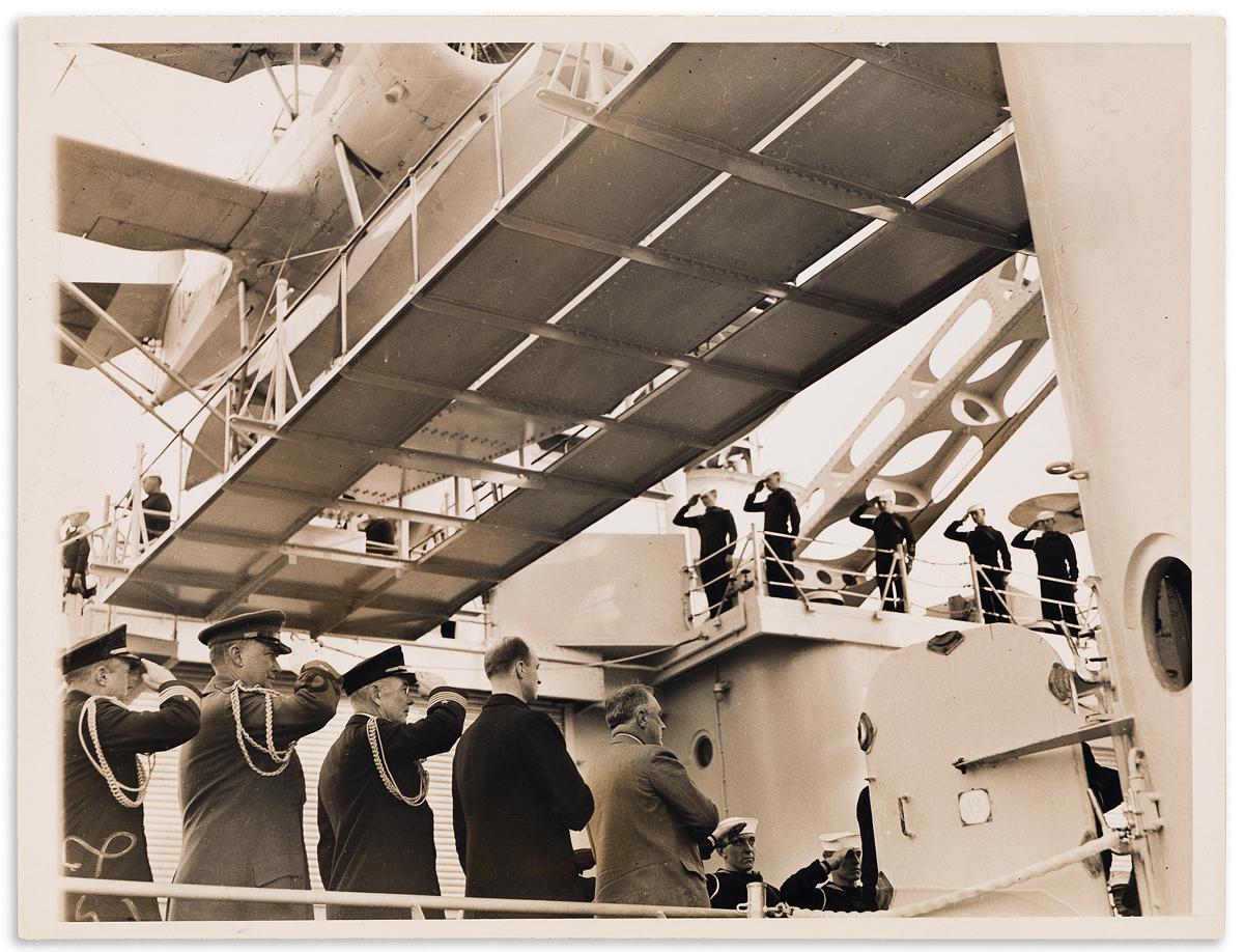 (PRESIDENTS--1932.) Group of news photographs of Franklin D. Roosevelt taken during his presidency.