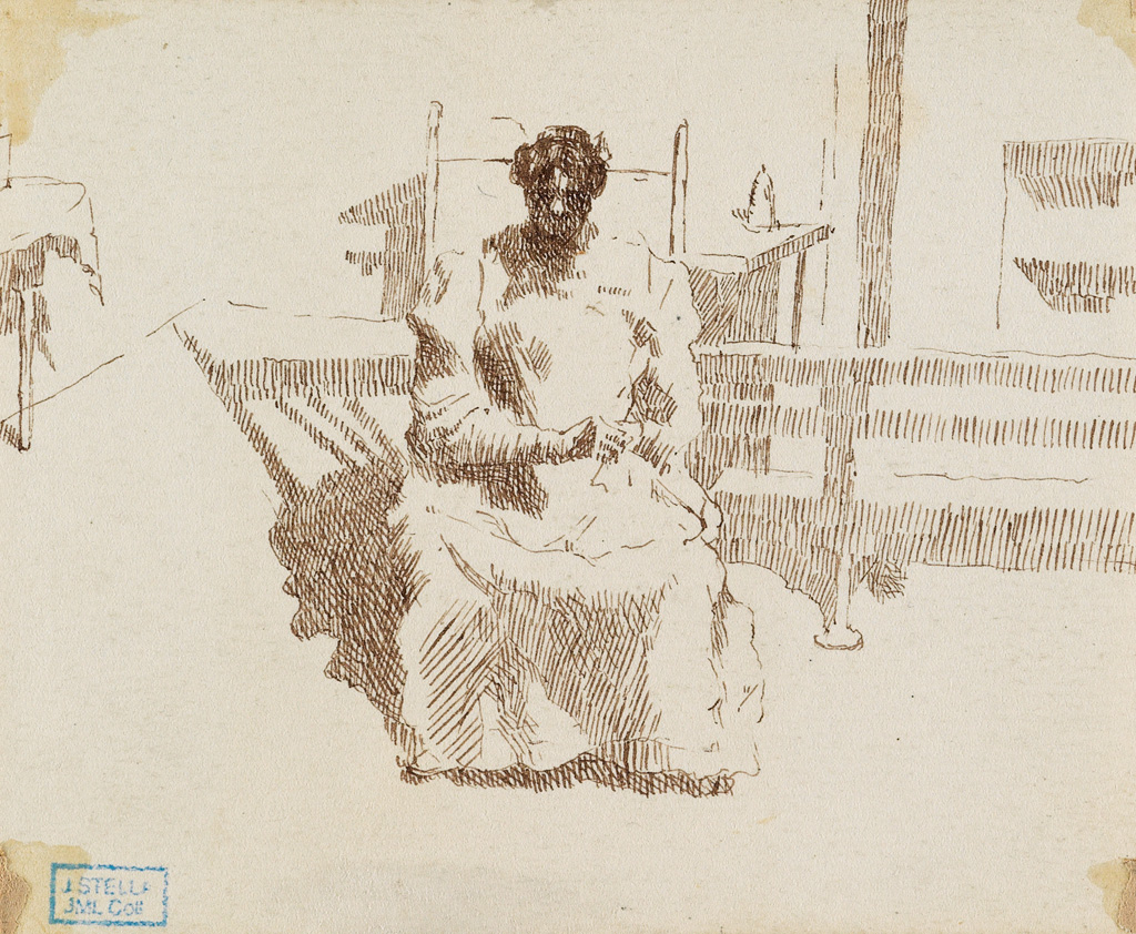 JOSEPH-STELLA-Three-drawings