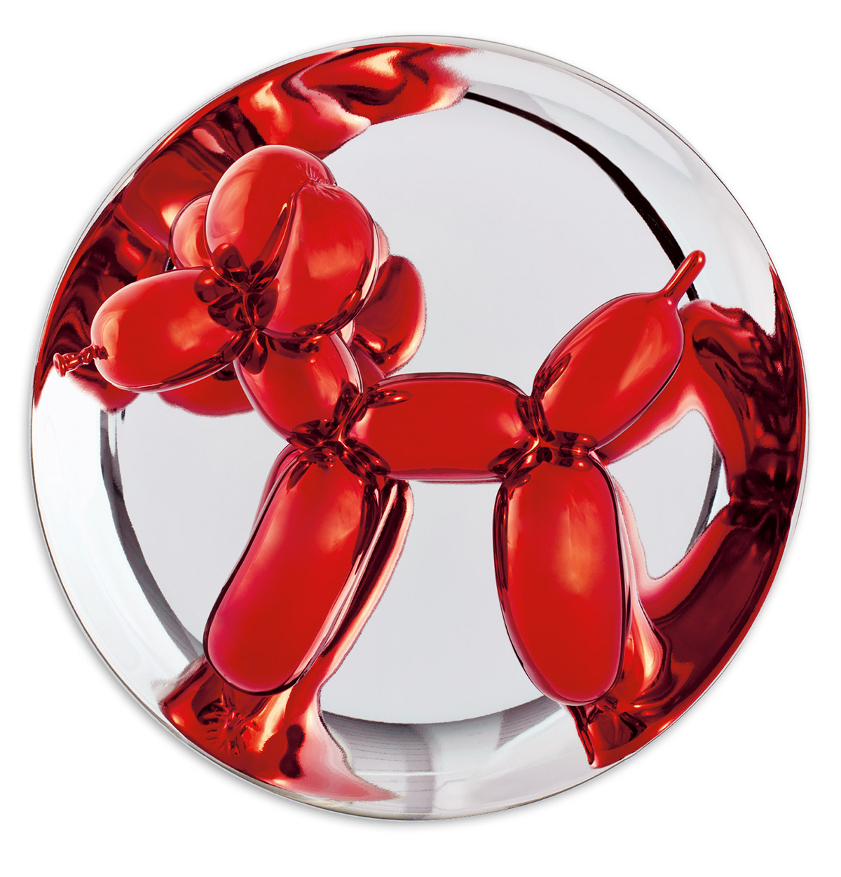 JEFF KOONS Balloon Dog (Red).