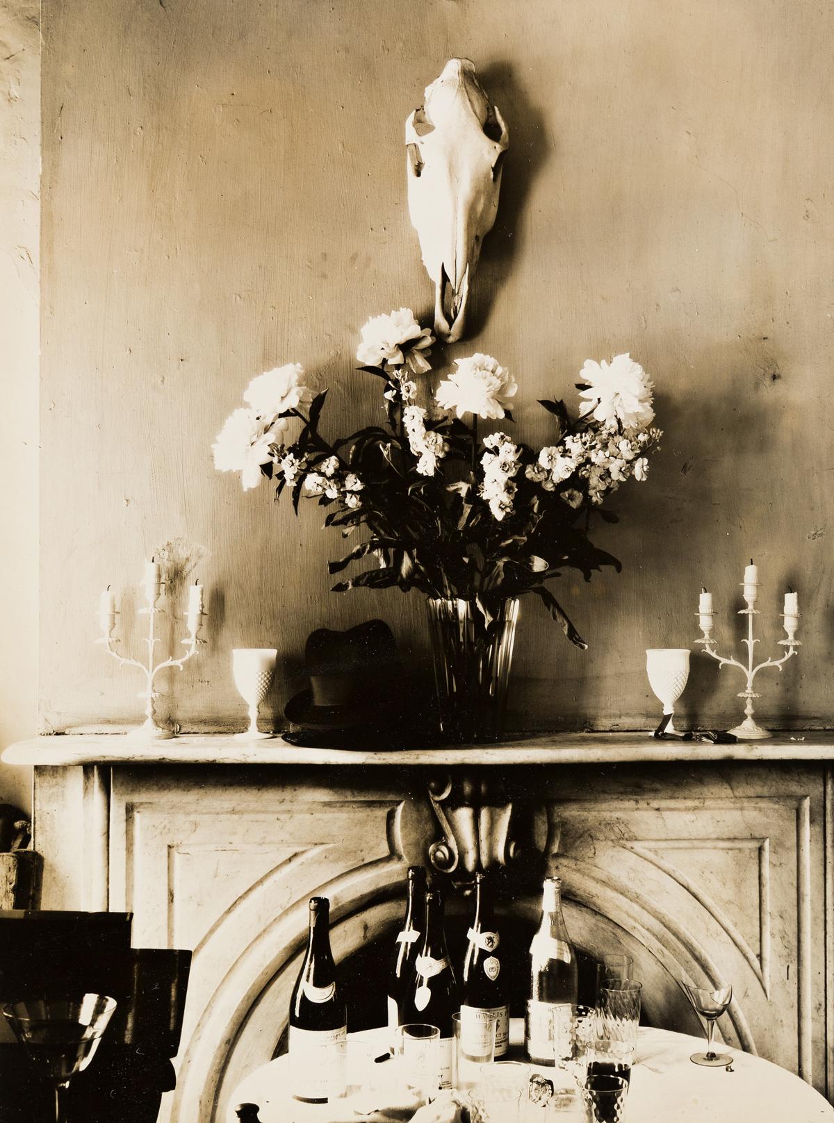 WALKER EVANS (1903-1975) Drawing Room in Muriel Drapers Apartment, N.Y.C.