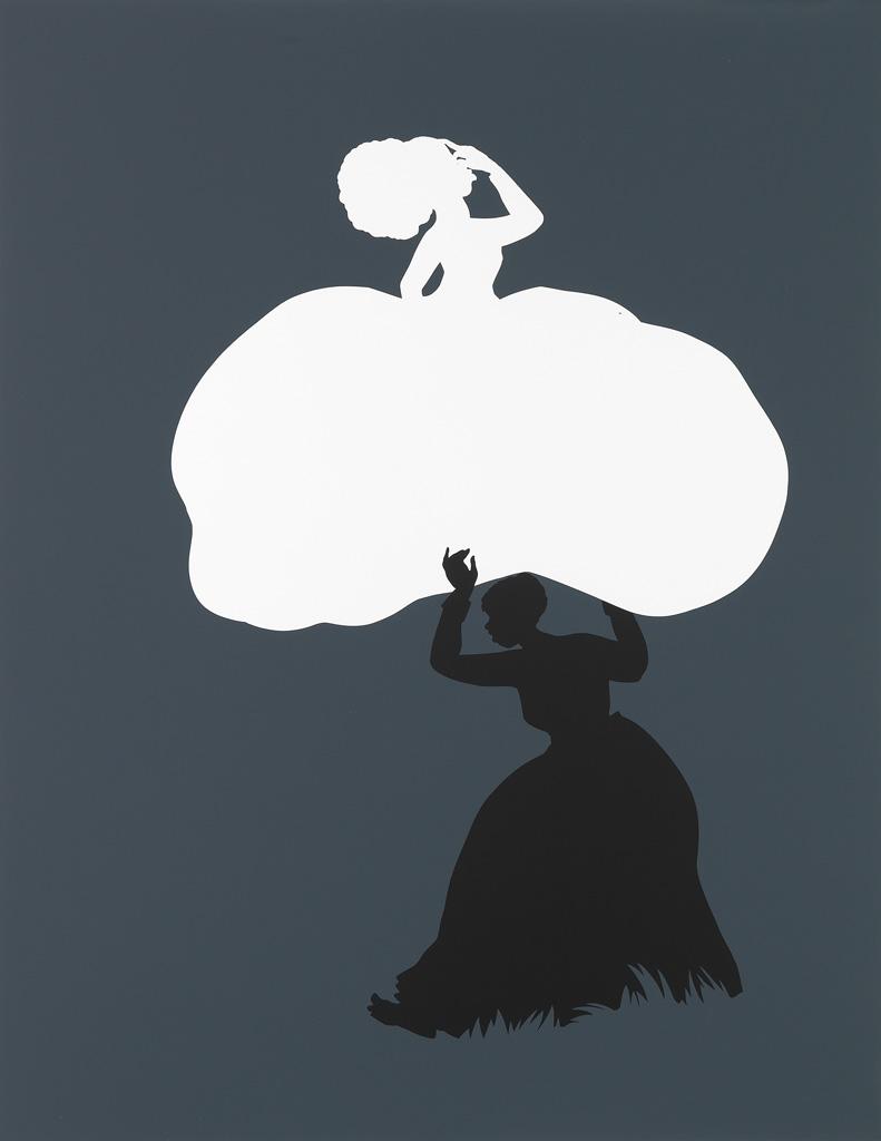 KARA WALKER (1969 -   ) The Emancipation Approximation (Scene 18).