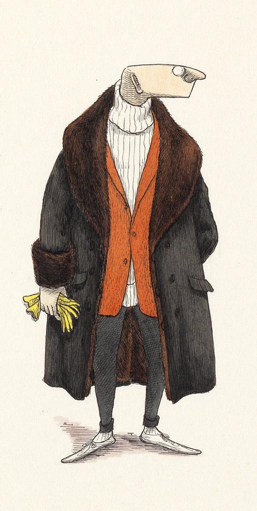 EDWARD GOREY. Mr. Earbrass.