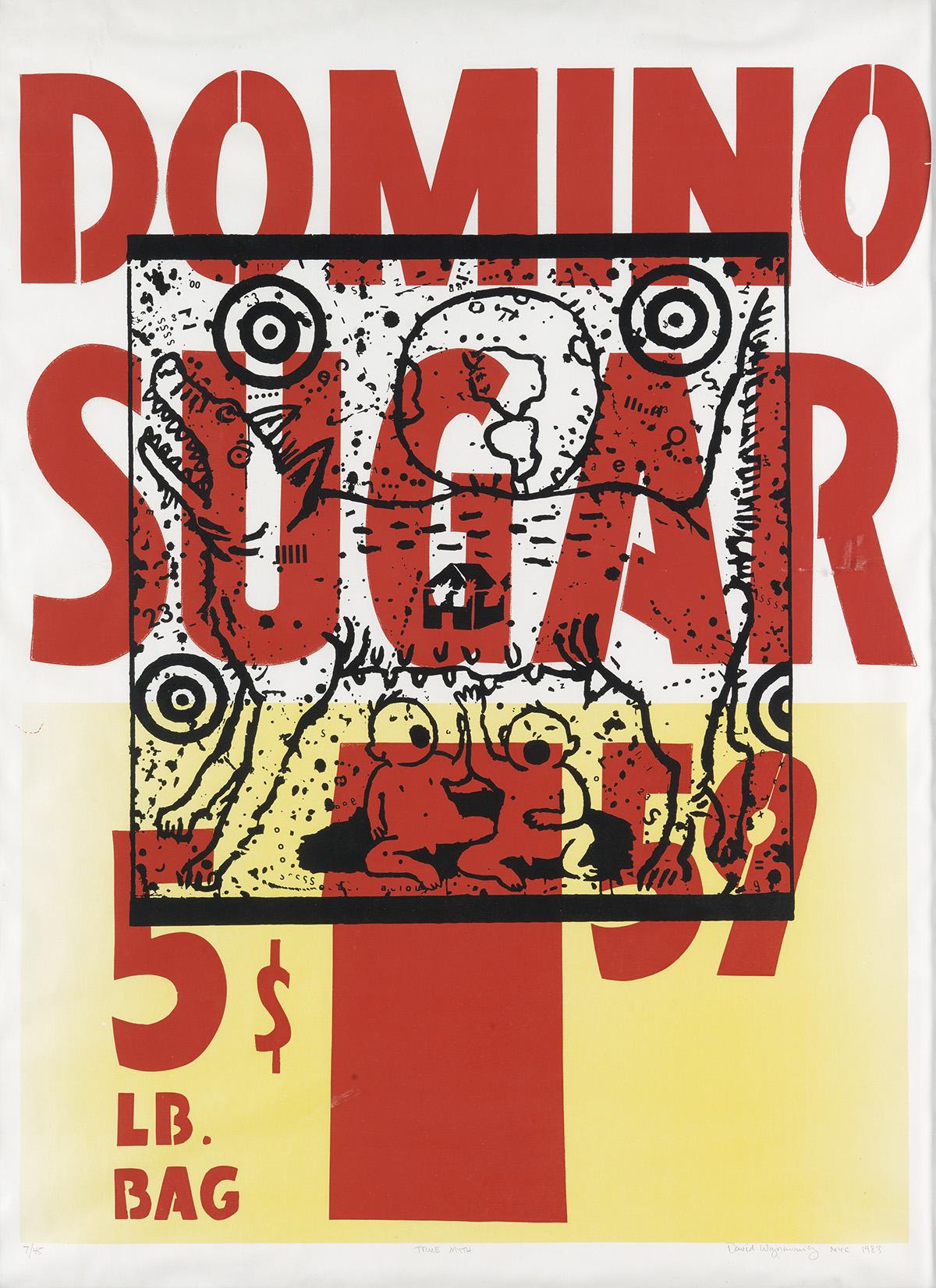 DAVID-WOJNAROWICZ-(1954-1992)--True-Myth--[Domino-Sugar]