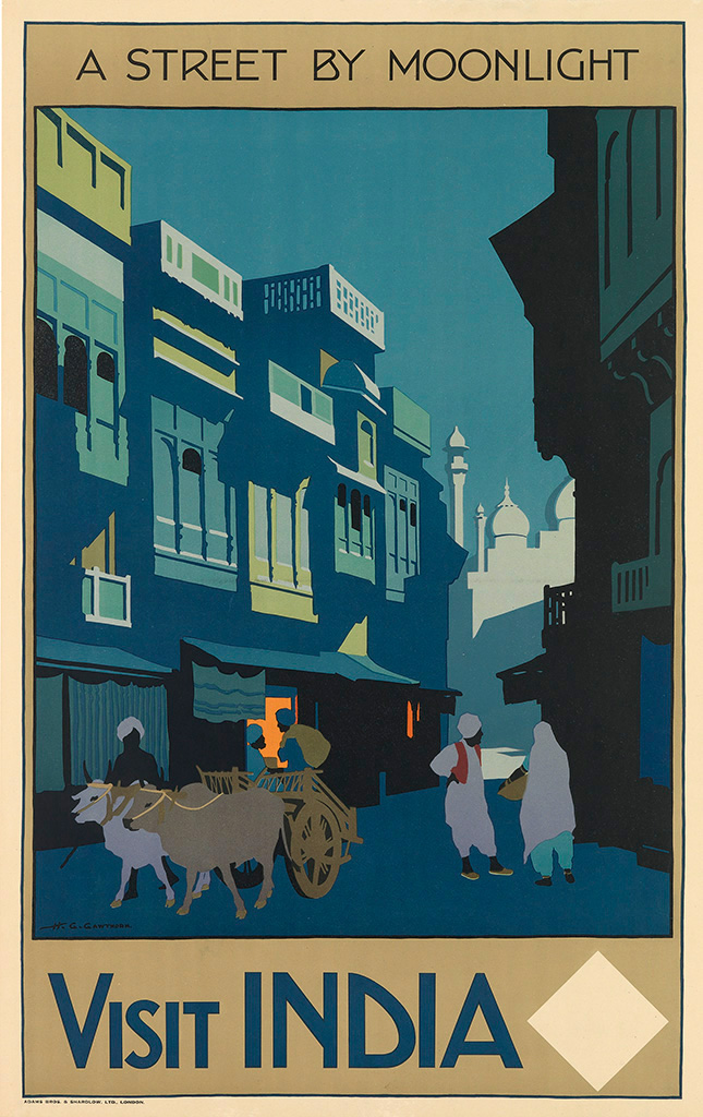 Henry-George-Gawthorn-(1879-1941)--VISIT-INDIA--A-STREET-BY-