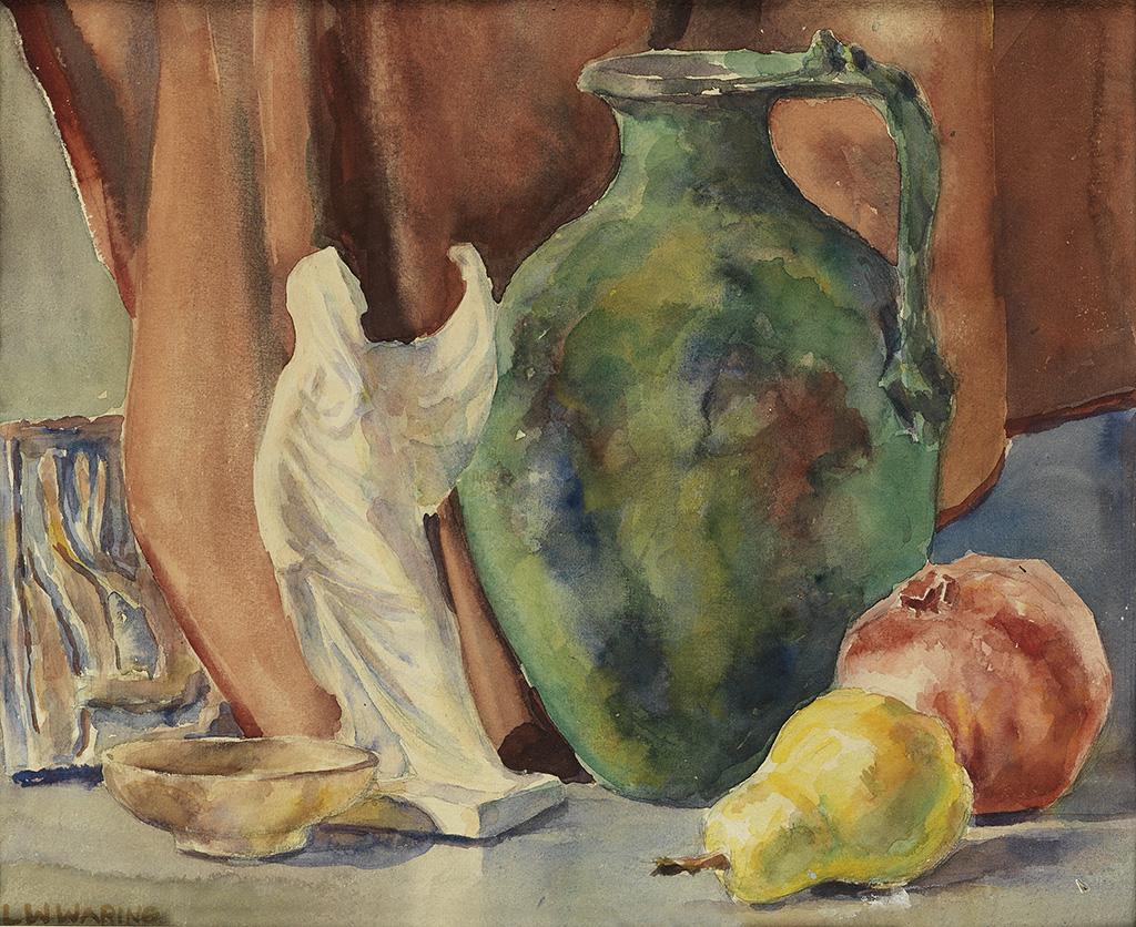 LAURA-WHEELER-WARING-(1887---1948)-Still-Life-with-Fruit