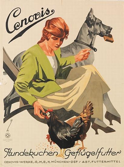 HANS-HEINRICH-KOCH-(1896-1977)-CENOVIS-Circa-1930-23x17-inch
