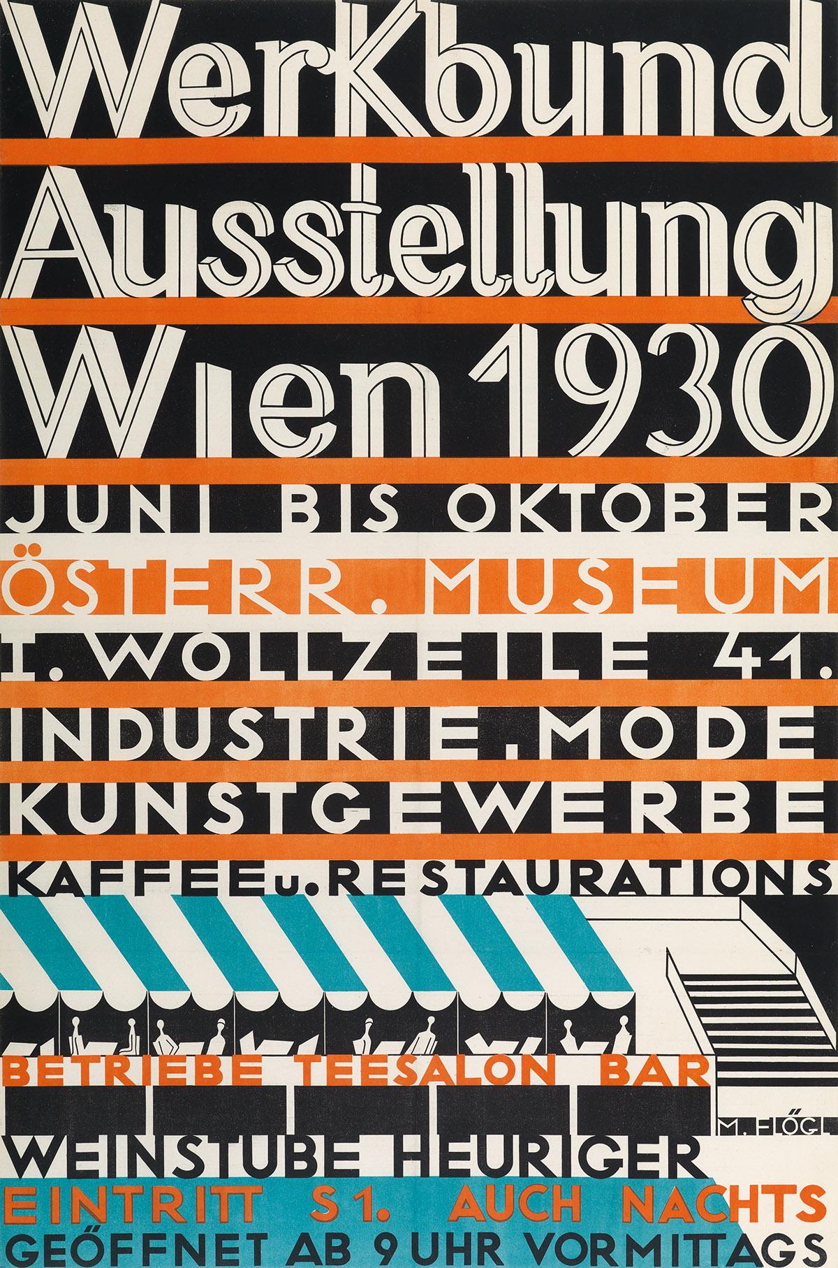 MATHILDE-FLÖGL-(1893-1958)-WERKBUND-AUSSTELLUNG-WIEN-1930-35