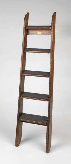 (CUNARD LINE.) Queen Mary. Wooden ladder from a Third Class cabin,