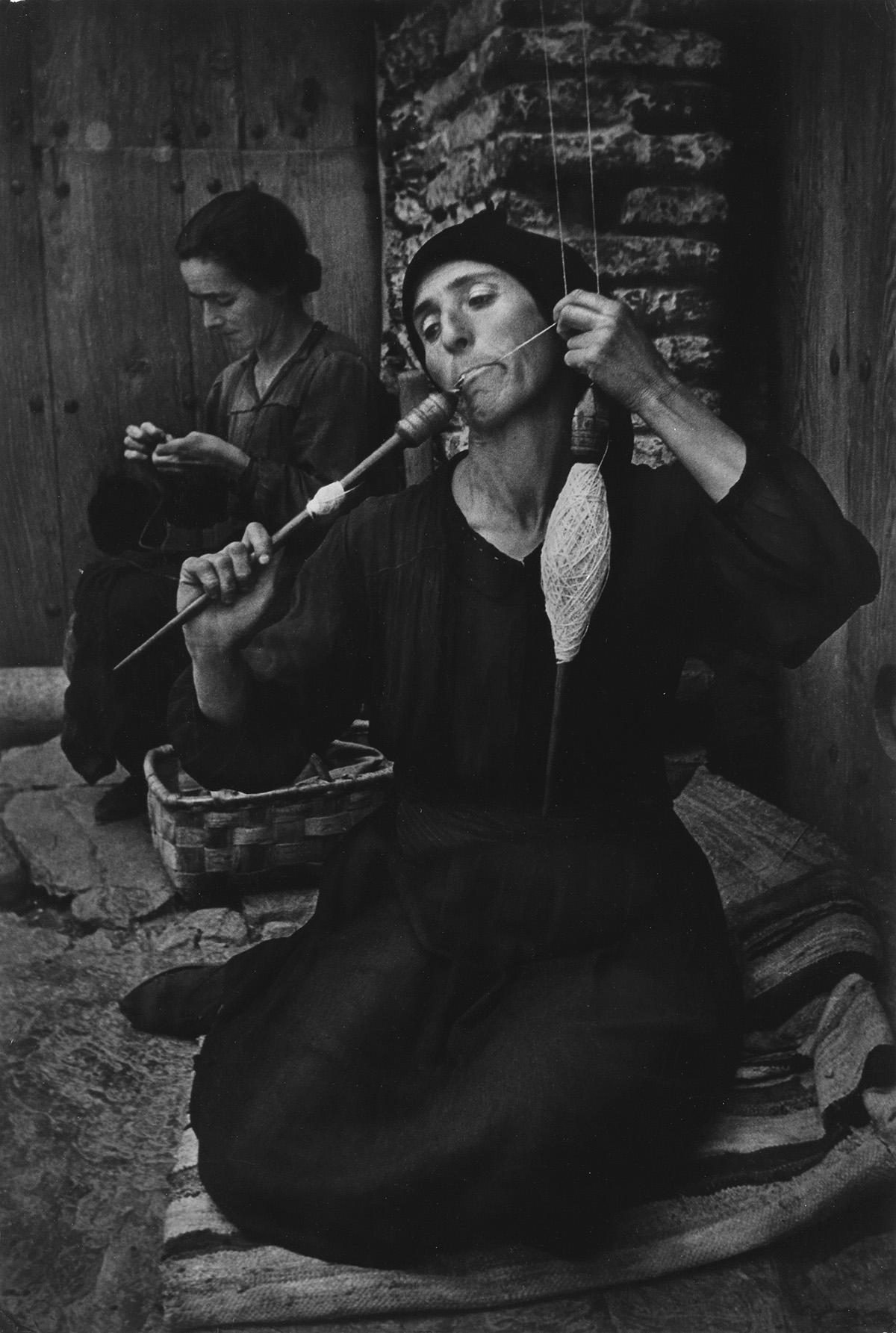 W. EUGENE SMITH (1918-1978) The Spinner, Spanish Village.