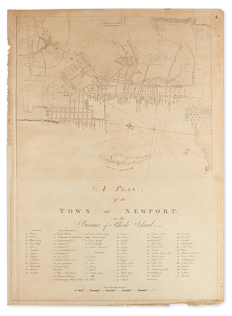 DES-BARRES-JOSEPH-FREDERICK-WALLET-A-Plan-of-the-Town-of-New